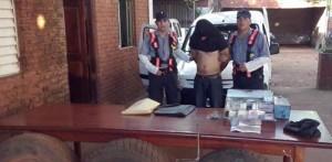 La Policía detuvo a tres hombres por robo en una estación de servicio de Candelaria