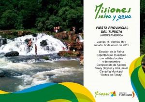 """Salto Tabay, una de las opciones para disfrutar  de """"Misiones, selva y agua"""""""