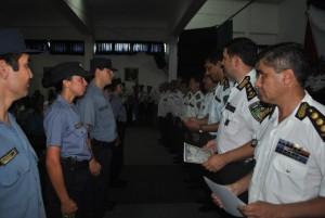 Se realizó el acto de ascenso del personal policial de Misiones