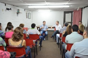 Emprendedores turísticos de Oberá se reunieron con el Ministro de Turismo