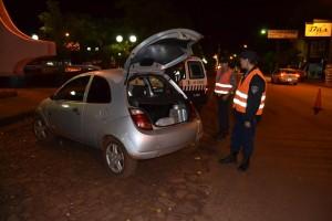 Oberá: Operativo de nocturnidad terminó con varios detenidos y vehículos secuestrados