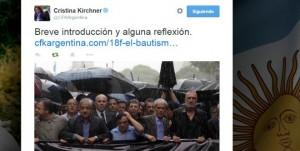 Cristina Kirchner calificó al 18F como 'marcha opositora': 'Es el bautismo del partido judicial'