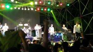 """""""Los Cafres"""" hicieron bailar a los encarnacenos en el Personal Fest"""
