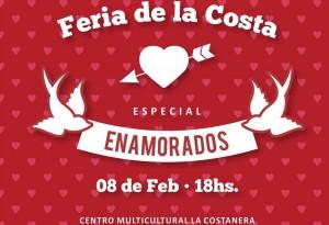 """Este domingo se realizará la Feria de la Costa especial """"Enamorados"""""""
