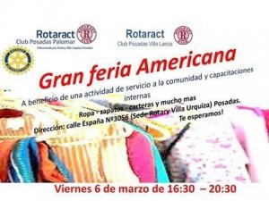 El Rotaract organiza una feria solidaria el próximo viernes