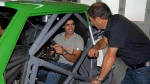 """Con este """"Toro"""", Carlitos Okulovich intentará ser el primer misionero en ganar una carrera de Turismo Carretera"""