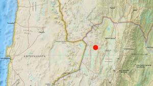 Un terremoto de magnitud 6,7 sacudió Argentina, en la frontera con Chile y Bolivia