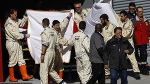 Alonso se accidentó durante una sesión de entrenamientos
