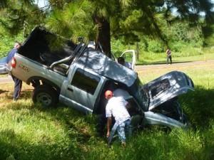 Grave accidente en la Ruta 12 en inmediaciones de Corpus