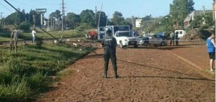 Dos mujeres murieron destrozadas por un auto de picadas en Posadas