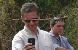 Empleado de Arauco niega las amenazas