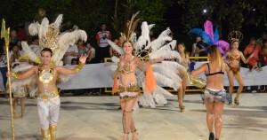 Jennifer Ortega es la Reina de los carnavales de Oberá