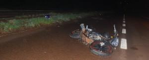 Esperanza: murió un motociclista herido en un despiste