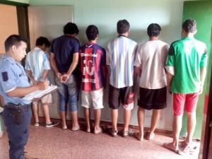 Hubo 15 detenidos en operativos preventivos en varios barrios de Posadas