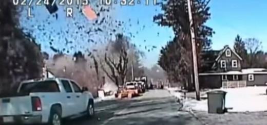 Video: explotó una casa en Nueva Jersey por un escape de gas