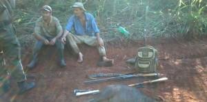 Cazadores fueron sorprendidos por guardaparques dentro de la Reserva Yabotí