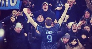 Icardi todo mal: los hinchas le devolvieron la camiseta, él los insultó y el Inter le puso una multa por su indisciplina