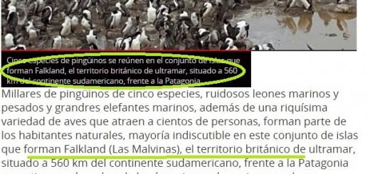 """Malvinas: un diario paraguayo las llama Falkland, las considera """"territorio británico"""" y dice que la capital es Stanley"""