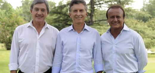 Con Miguel del Sel y el radical Boasso, Macri presentó los candidatos para Santa Fe