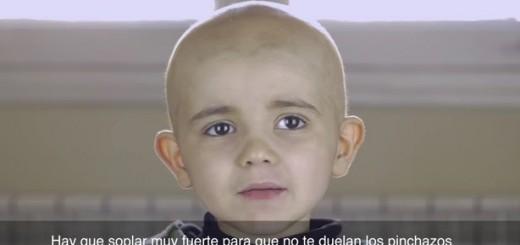 Conmovedor: un niño de 4 años anima a los internautas a donar médula, desde un video