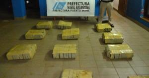 Detuvieron a dos hombres con 270 kilos de marihuana en Puerto Maní