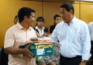 Entregaron indumentaria e insumos por más de 2 millones de pesos a municipales posadeños