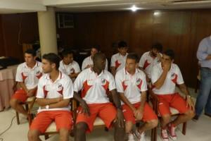 "Guaraní presentó sus refuerzos y Chaucha dejó un mensaje: ""Vamos a salir a ganar y a pelear el ascenso"""
