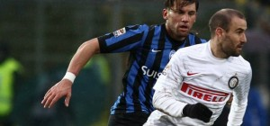 Palacio volvió a festejar en la goleada del Inter