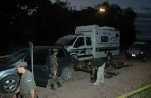 Decomisaron más de 600 kilos de marihuana cerca de Itatí
