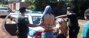 Cae un trío sospechado de haber cometido robos en distintas casas de Posadas