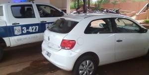 Policías recuperaron un automóvil robado en Posadas