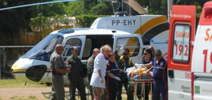 Es gravísimo el estado de salud del nene posadeño que cayó desde un balcón en Capão da Canoa