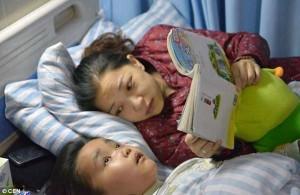 Una historia emotiva: con 7 años le salvó la vida a su mamá