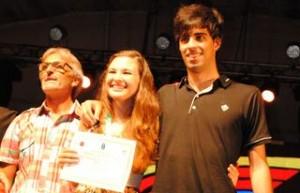 La joven cantante María Belén Ruppel, entre los misioneros ganadores para el Festival de Baradero 2015