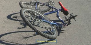 Una mujer resultó herida tras despistar con su bicicleta en Posadas