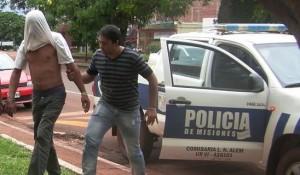Alem: detienen a dúo sospechado de distintos robos