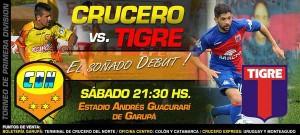 """Buena demanda de entradas para ver Crucero-Tigre el sábado, la """"popular"""" a $180"""