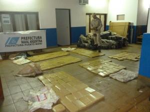 Un paraguayo fue detenido con más de 1.100 kilos de marihuana en Corpus