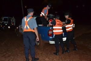 La policía realizó varios operativos de prevención de delitos y faltas en Oberá