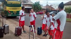 Guaraní entrenó en Kimberley a la mañana y quedó concentrado para el duelo ante Unión mañana a las 21.10
