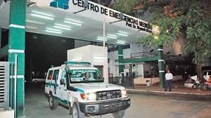 En Asunción un chico se pegó un tiro jugando a la ruleta rusa y está fuera de peligro