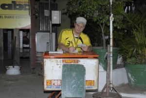 Un anciano murió en una calle de Asunción al enterarse que había ganado la quiniela