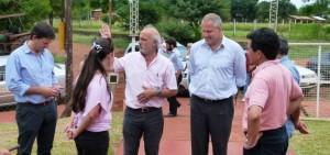 Wanda: El viceministro de Educación de la Nación visitó la Escuela N° 307