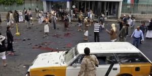 Brutal triple atentado de Estado Islámico en Yemén deja al menos 126 muertos