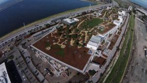Facebook: así son sus nuevas oficinas con pelotero incluido y un parque gigante en la terraza