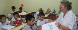 """Abrió nueva escuela cristiana """"Emanuel"""" con aulas completas"""