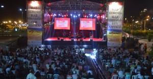 Masiva concurrencia a los shows musicales en la previa al Día de la Memoria