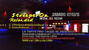 Escándalo en San Vicente: strippers desnudos con menores de edad en un boliche