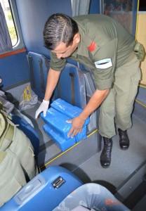 Gendarmería secuestró en Corrientes droga que era transportada desde Iguazú