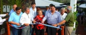 Alba Posse se benefició con varias obras inauguradas en los actos por el 80º aniversario del municipio